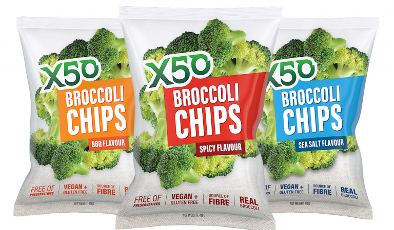 Broccoli chips are a thing